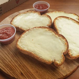 Chanticlear Pizza - Garlic Toast with Cheese