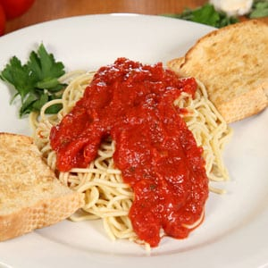 Chanticlear Pizza - Spaghetti