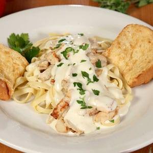 Chanticlear Pizza - Fettuccine
