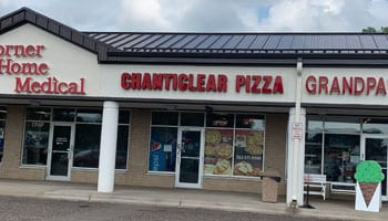 Chanticlear Pizza location in Fridley