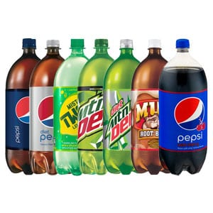 Assorted Pepsi Products