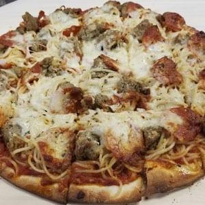 Chanticlear Pizza - Spaghetti Pizza